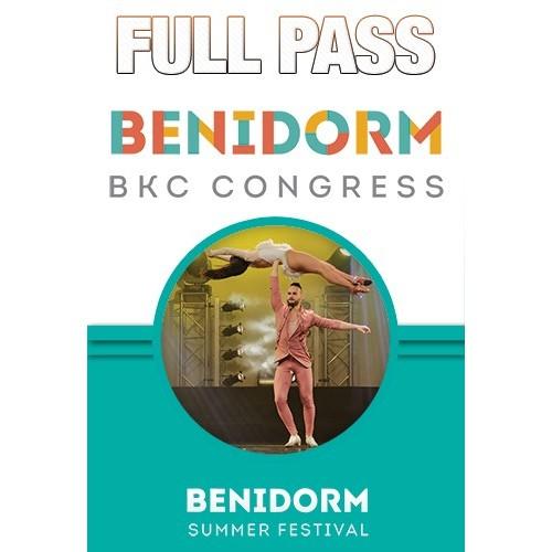 Full Pass Benidorm BK Congress 2018