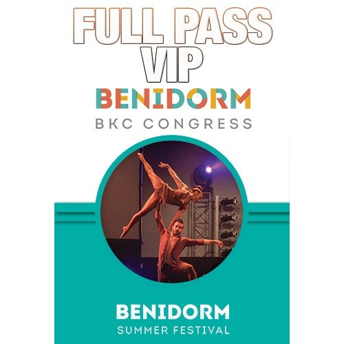 Full Pass VIP Benidorm BK Congress 2018