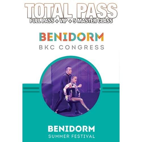 Total Pass Benidorm BKC Congress 2018
