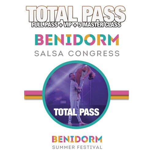 Total Pass Benidorm Salsa Congress 2018