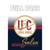 Full Pass - Uruguay Salsa Congress 2018