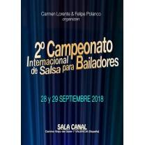 2º International Salsa Championship for dancers 2018