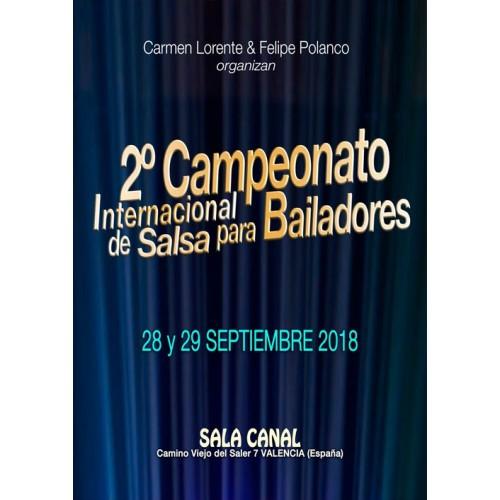 2º Campeonato Internacional de Salsa para Bailadores 2018