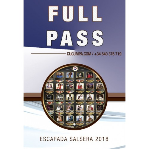Full Pass Escapada Salsera 2018