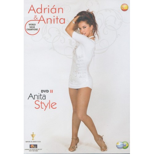 Adrián y Anita DVD II Anita Style Salsa