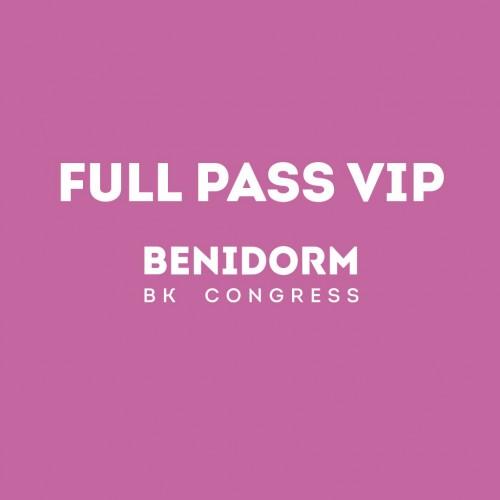 2019 Full Pass VIP Benidorm BK Congress
