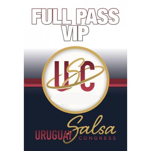 Full Pass VIP - Uruguay Salsa Congress 2019
