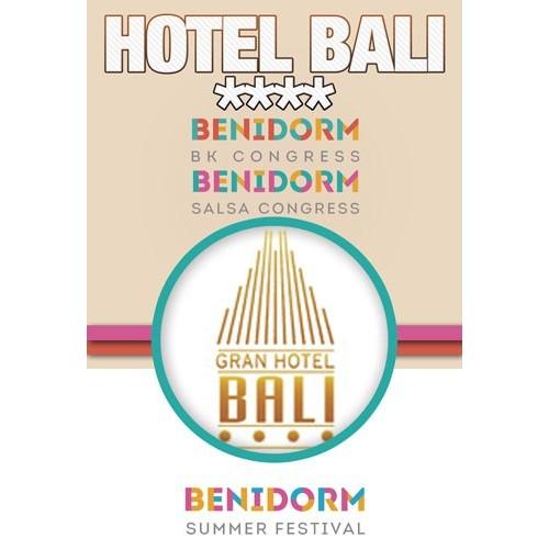 2020Hotel Gran Bali Benidorm Summer Festival