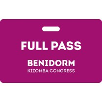 Full Pass Benidorm Kizomba Congress 2020