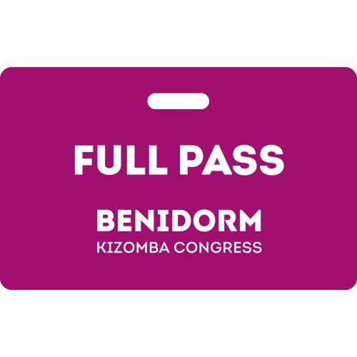 Full Pass Benidorm Kizomba Congress 2020