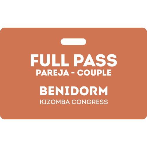 Full Pass Pareja Benidorm Kizomba Congress 2020