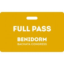 Full Pass Benidorm Bachata Congress 2020
