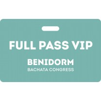Full Pass VIP Benidorm Bachata Congress 2020