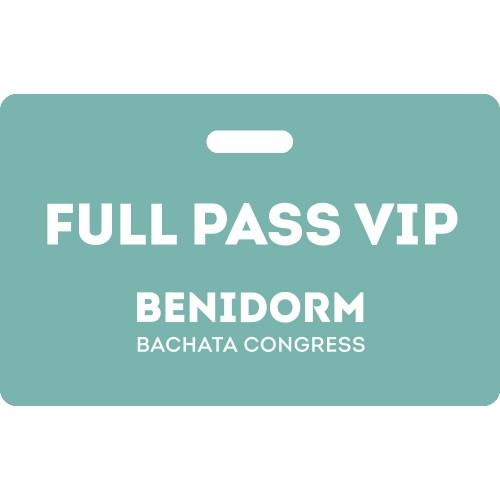 Full Pass VIP Benidorm Bachata Congress 2020