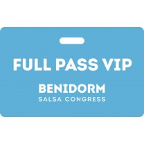 Full Pass VIP Benidorm Salsa Congress 2020
