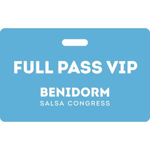 Full Pass VIP Benidorm Salsa Congress 2020