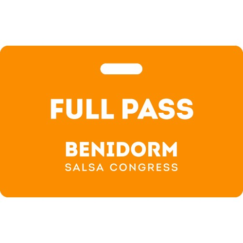 Full Pass Benidorm Salsa Congress 2020