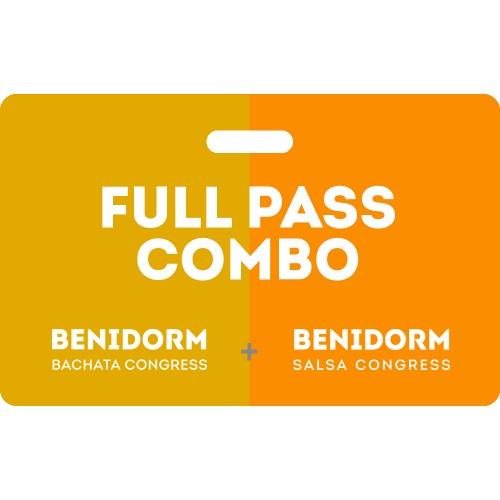 Combo Full Pass Benidorm Bachata Salsa Congress 2020