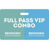Combo Full Pass Vip Bachata Salsa Congress 2020