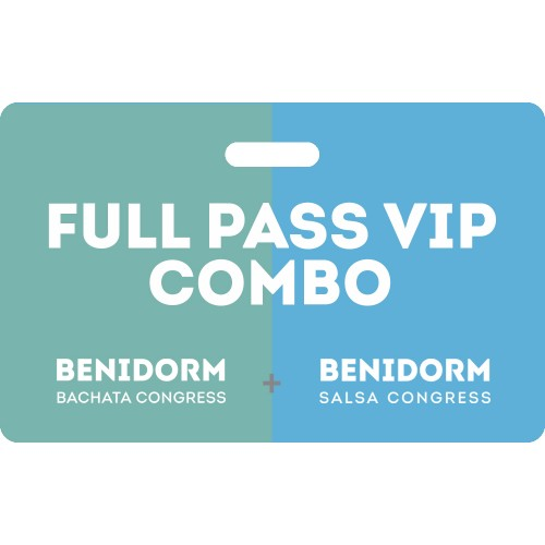 Combo Full Pass Vip Bachata Salsa Congress 2020