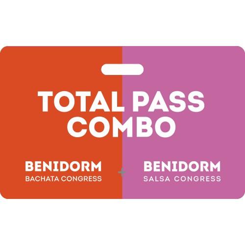 Combo Total Pass Benidorm Bachata Salsa Congress 2020