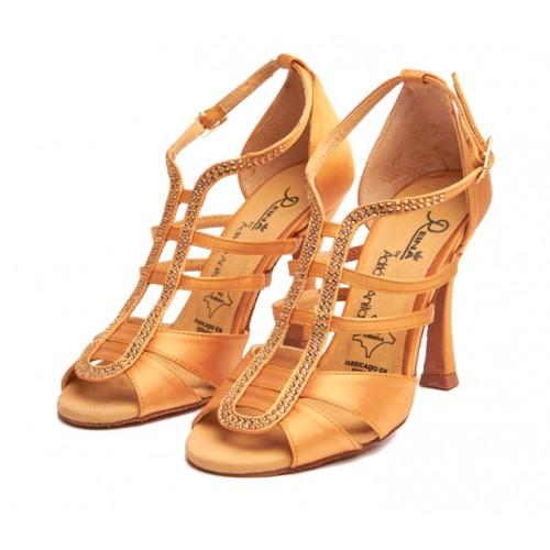 Anita Night Tan Heel 7,5 cm