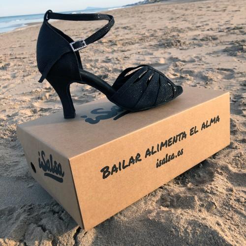 Juana Glitter - Black iSalsa