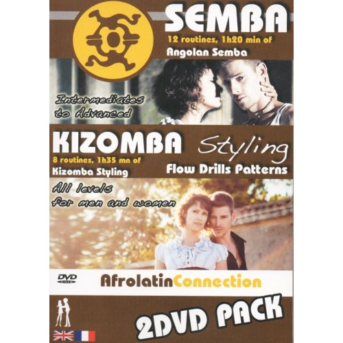 Pack SEMBA KIZOMBA Styling AfroLatin Connection