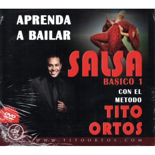 """Salsa Basic 1 """"Aprende a Bailar"""" Tito Ortos"""