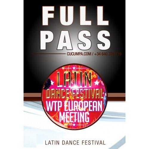 Full Pass LATIN DANCE FESTIVAL & WTP EUROPEAN MEETING